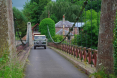 Early Suspension Bridge