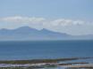 View over Caernarfon bay to Y Gyrn-ddu